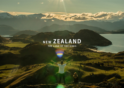 New Zealand – The Land of the Kiwis